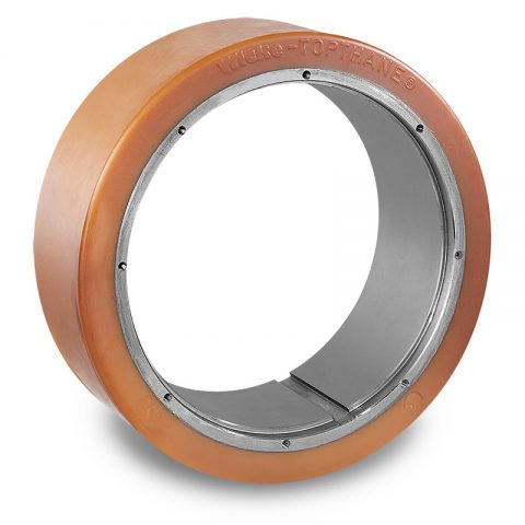 Drive wheel for electric pallet truck 300mm from polyurethane  for machines BT