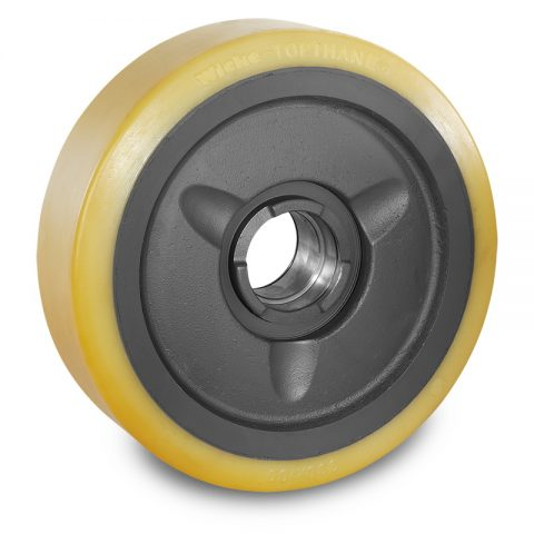 Load wheel for electric pallet truck 330mm from polyurethane for machines Crown