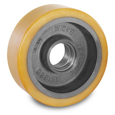 Load wheel for electric pallet truck 285mm from polyurethane for machines Pimespo