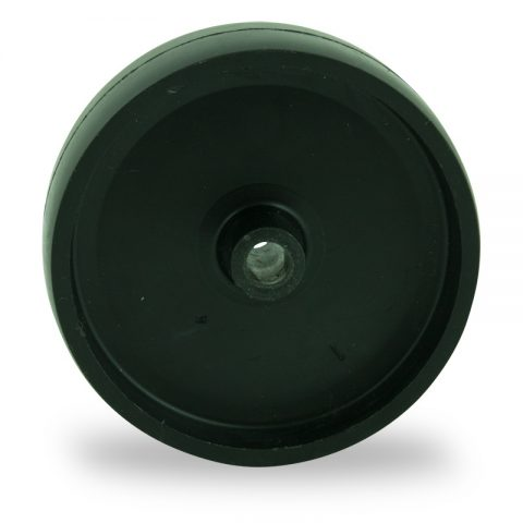 Wheel 75mm for light trolleys made from polypropylene,plain bearing.