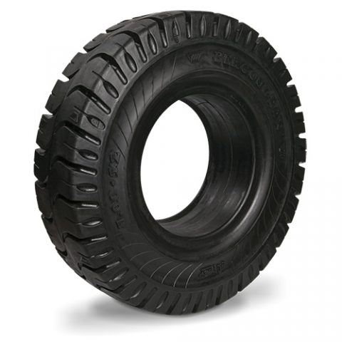 Solid tire for electric pallet truck, dimension 23X5-13 rim width 3.75