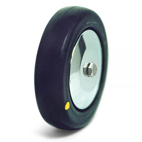 Wheel 125mm from conductive polyurethane with double ball bearings