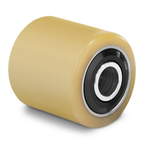 Load roller for electric pallet truck 85mmX80mm with ball bearings and bore 12mm