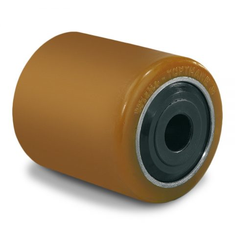 Load roller for electric pallet truck 85mmX44mm with ball bearings and bore 12mm