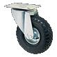 SPN pneumatic-black-rubber-steel-rim