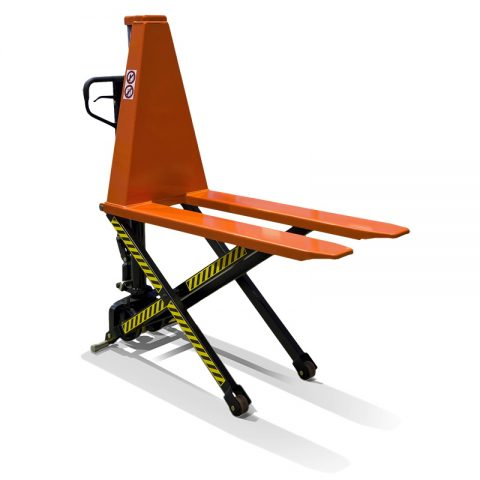 Scissor lift which lifts up to 800mm, but at the height of 400mm it can not me moved
