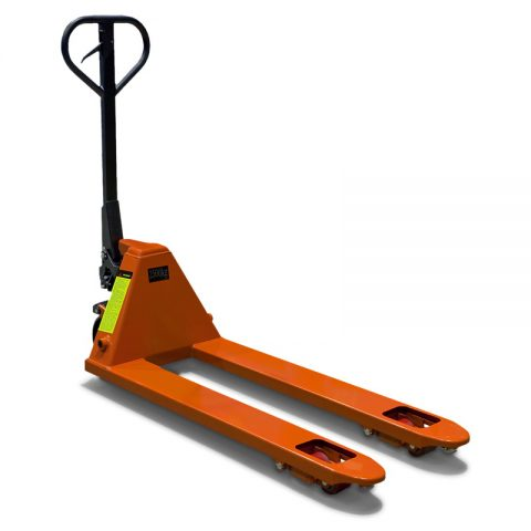 Hand pallet truck with load capacity of 2 tones and 2,5 tones